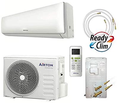 pack prêt à installer climatiseur plus pompe à chaleur installation facille pour l'intérieur de la maison
