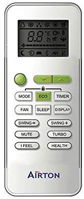 télécommande pour pompe à chaleur Airton classement des modèles en ventes