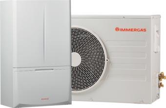 Pompe à chaleur Immergas+ unité de condensation extérieure kit MAGIS PRO 5 ErP 3.025694