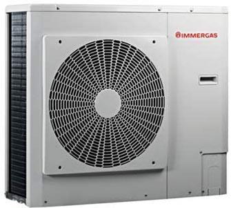 Pompe à chaleur marque Immergas puissance 8 kW référence 3.027810 gamme AUDAX 8 guide achat