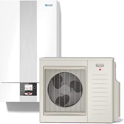 Pompe à chaleur de marque Wolf modèle Split BWL-1S-05 chauffage électrique installation pour la maison guide achat